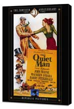 The Quiet Man - 27 x 40 Movie Poster - Style B - Museum Wrapped Canvas