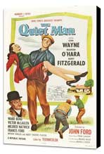 The Quiet Man - 27 x 40 Movie Poster - Style D - Museum Wrapped Canvas