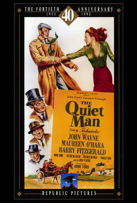The Quiet Man - 27 x 40 Movie Poster - Style B