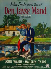 The Quiet Man - 11 x 17 Movie Poster - Danish Style A