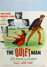 The Quiet Man - 11 x 17 Movie Poster - German Style A