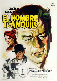 The Quiet Man - 11 x 17 Movie Poster - Spanish Style A