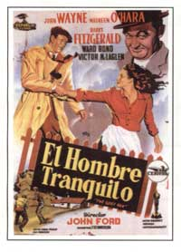 The Quiet Man - 11 x 17 Movie Poster - Spanish Style B