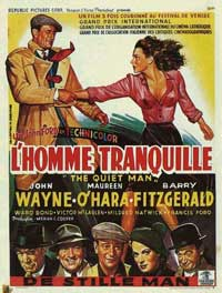 The Quiet Man - 11 x 17 Movie Poster - Belgian Style A