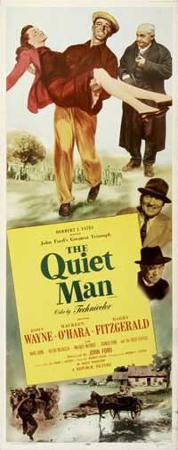 The Quiet Man - 20 x 60 - Door Movie Poster - Style A
