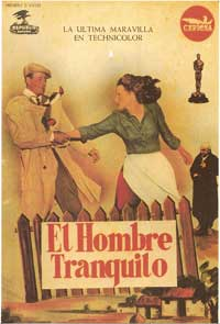 The Quiet Man - 11 x 17 Movie Poster - Spanish Style D