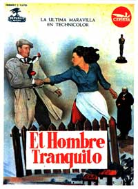 The Quiet Man - 27 x 40 Movie Poster - Spanish Style A