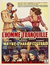 The Quiet Man - 27 x 40 Movie Poster - Belgian Style A