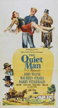 The Quiet Man - 41 x 81 3 Sheet Movie Poster - Style A