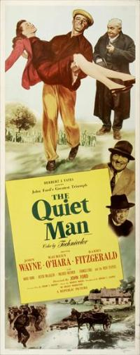 The Quiet Man - 14 x 36 Movie Poster - Insert Style A
