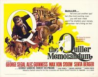 The Quiller Memorandum - 11 x 14 Movie Poster - Style A