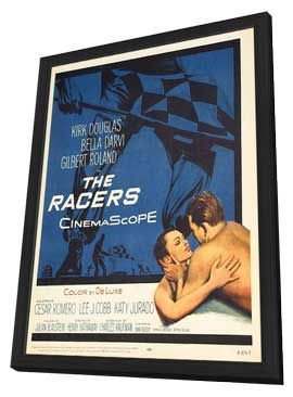 The Racers - 11 x 17 Movie Poster - Style A - in Deluxe Wood Frame