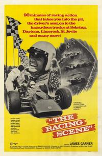The Racing Scene - 11 x 17 Movie Poster - Style A