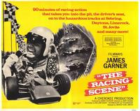 The Racing Scene - 11 x 14 Movie Poster - Style A