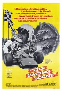 The Racing Scene - 27 x 40 Movie Poster - Style A