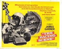 The Racing Scene - 22 x 28 Movie Poster - Half Sheet Style A