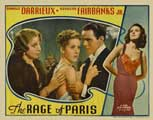 The Rage of Paris - 11 x 14 Movie Poster - Style E