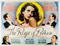 The Rage of Paris - 11 x 14 Movie Poster - Style A