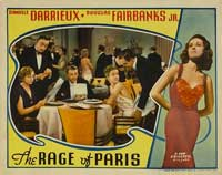 The Rage of Paris - 11 x 14 Movie Poster - Style C