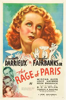 The Rage of Paris - 11 x 17 Movie Poster - Style A