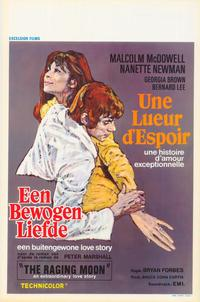 The Raging Moon - 27 x 40 Movie Poster - Belgian Style A