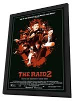 The Raid 2 - 27 x 40 Movie Poster - Style A - in Deluxe Wood Frame