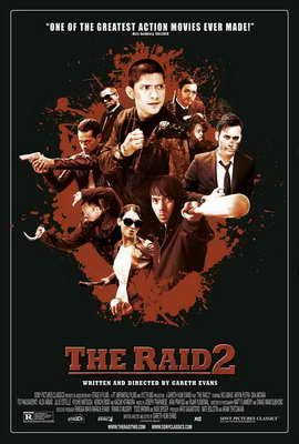 The Raid 2 - 27 x 40 Movie Poster - Style A