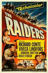 The Raiders - 27 x 40 Movie Poster - Style B