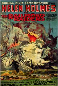 The Railroad Raiders - 11 x 17 Movie Poster - Style A