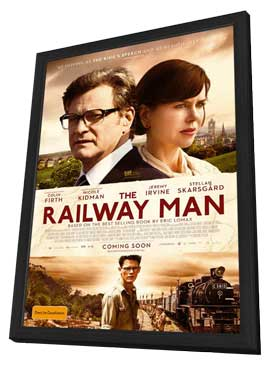 The Railway Man - 27 x 40 Movie Poster - Australian Style A - in Deluxe Wood Frame