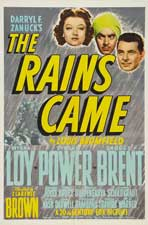 The Rains Came - 27 x 40 Movie Poster - Style B