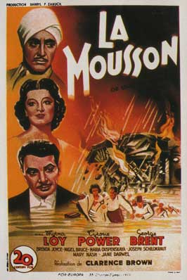 The Rains Came - 11 x 17 Movie Poster - French Style A