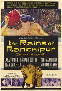 The Rains of Ranchipur - 27 x 40 Movie Poster - Style A