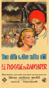 The Rains of Ranchipur - 27 x 40 Movie Poster - Italian Style A