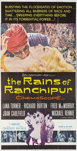 The Rains of Ranchipur - 20 x 40 Movie Poster - Style A
