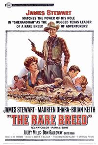 The Rare Breed - 27 x 40 Movie Poster - Style A
