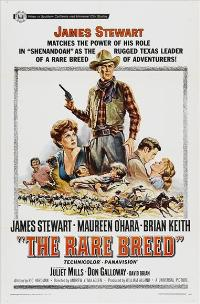 The Rare Breed - 43 x 62 Movie Poster - Bus Shelter Style A