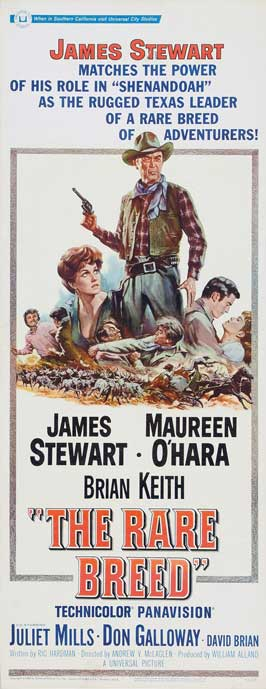 The Rare Breed - 14 x 36 Movie Poster - Insert Style A