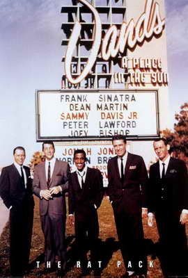 The Rat Pack - 27 x 40 Movie Poster - Style A