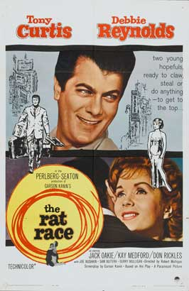 The Rat Race - 11 x 17 Movie Poster - Style B