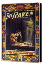 The Raven - 11 x 17 Movie Poster - Style A - Museum Wrapped Canvas