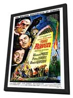 The Raven - 27 x 40 Movie Poster - Style C - in Deluxe Wood Frame