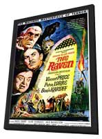 The Raven - 11 x 17 Movie Poster - Style C - in Deluxe Wood Frame