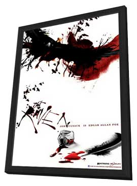 The Raven - 11 x 17 Movie Poster - Style A - in Deluxe Wood Frame