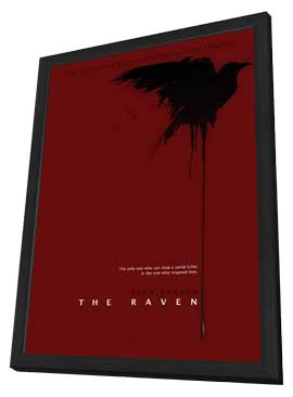 The Raven - 11 x 17 Movie Poster - Style B - in Deluxe Wood Frame