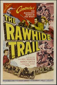 The Rawhide Trail - 11 x 17 Movie Poster - Style A