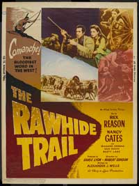 The Rawhide Trail - 27 x 40 Movie Poster - Style B