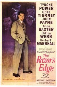 The Razor's Edge - 11 x 17 Movie Poster - Style A