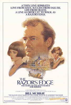 The Razor's Edge - 11 x 17 Movie Poster - Style B