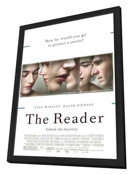 The Reader - 27 x 40 Movie Poster - Style A - in Deluxe Wood Frame